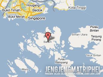 Peta Batam (kredit peta: Google Maps)