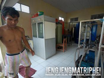 Instalasi pengolahan air tawar di Pulau Kelapa
