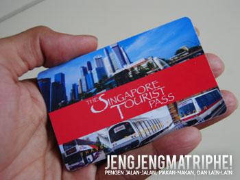 Singapore Tourist Pass - tiket elektronik untuk naik MRT