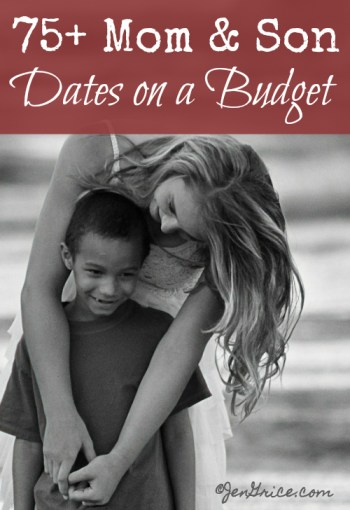75+ Mom & Son Dates on a Budget