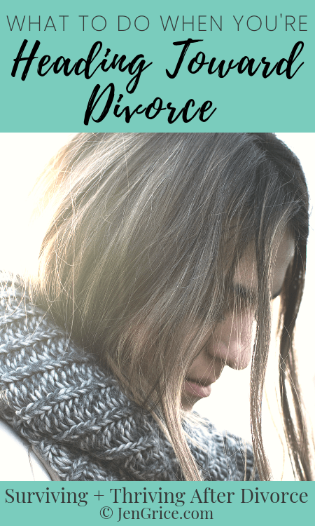 This can be a scary, messy time. All the feelings and emotions want to paralyze you with fear. So I'm sharing what to do when you're headed toward divorce. Be prepared and protect yourself for now and in the future with these tips. via @msjengrice