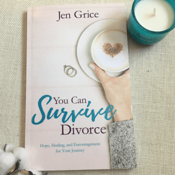 You Can Survive Divorce Book | By Jen Grice