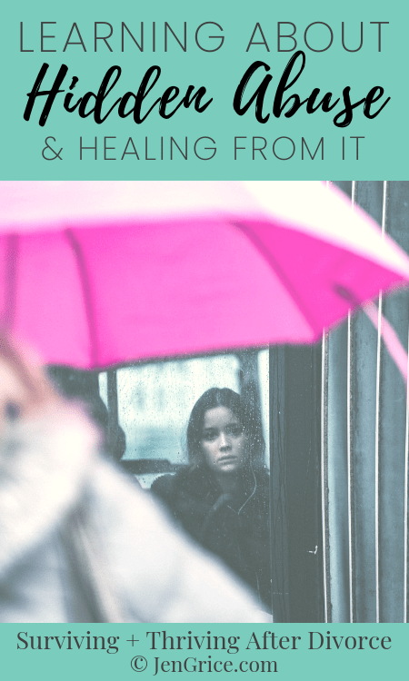 Do you know what hidden abuse is? Do you know the process you need to go through to heal from it? If not, you need to read this book, Healing from Hidden Abuse, by Shannon Thomas.