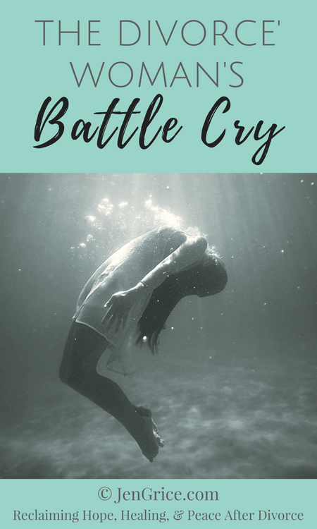 Going through a divorce is not easy, especially an unwanted divorce. Divorced women often cry out but is anyone really listening? This is our battle cry! via @msjengrice