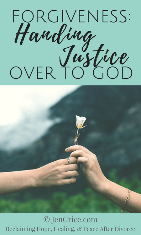 Forgiveness is not a process you do for someone else. Forgiveness is the process of handing over all of your pain and hurt to God, for Him to take care of the judgment. Jesus left things in God\'s hands (1 Peter 2:23) and so can we.