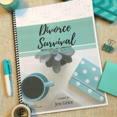Divorce Survival Tool Kit (Printable Pack) | By Jen Grice