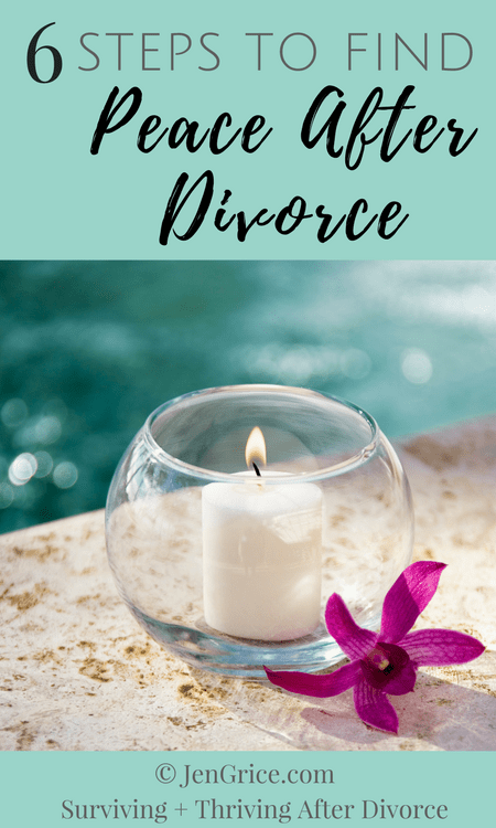 Many women only want to live in peace during their marriage. But after divorce, we can walk the needed steps to find peace and live in peace in this world. Peace is found when we realize it depends on us to create it and practice it, and not allow others to ruin it. via @msjengrice