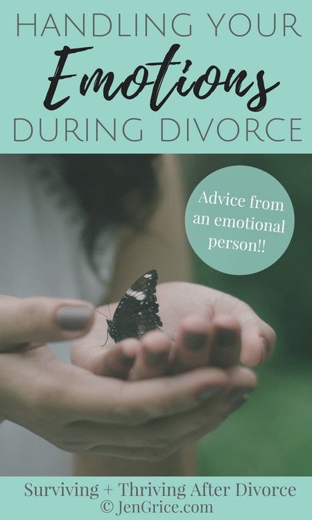 There seems to be a negative connotation to having emotions (especially during divorce). Some people don't even want to see pain. But my divorce has taught me that some people are given the gift of feeling all of the emotions of others. It's a gift! We just have to learn how to handle this gift in a healthy way. via @msjengrice