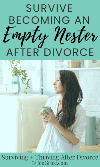 You survived divorce now you have to survive becoming an empty nester after divorce. Work through the feelings and learn how to cope. There are positives after divorce, let's find them together!