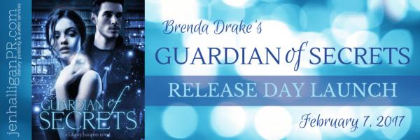 Guardian of Secrets by Brenda Drake | Release Day Launch | JenHalliganPR.com