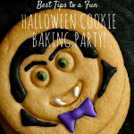 Halloween Cookie Baking Party