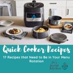 Quick Cooker Pressure Cooker Recipe Round Up