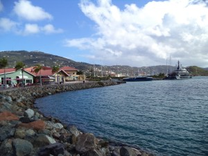 Virgin Island Port Call