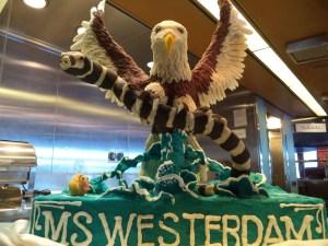 MS. Westerdam Cake