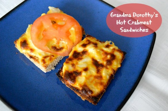 Crabby Snack label