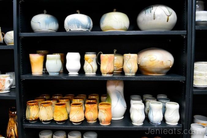 Pottery on Shelf wm