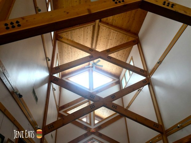 Retreat Center Beams