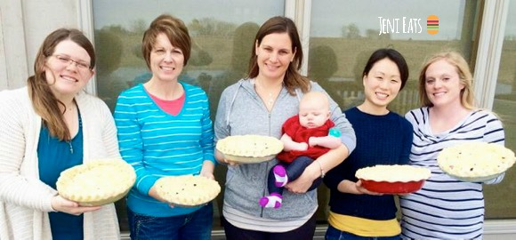 Group pies
