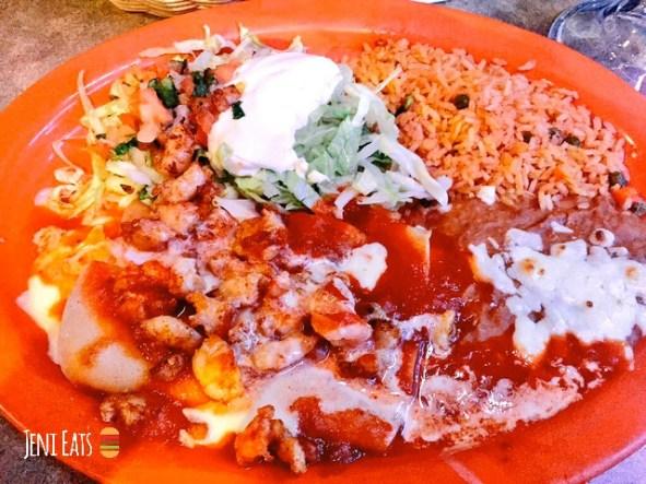 las palmas shrimp enchiladas