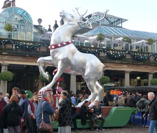 Image result for covent garden reindeer blog