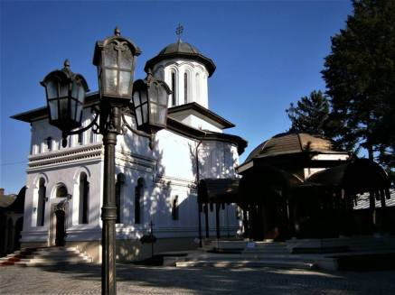 Plumbuita Monastery, the Church