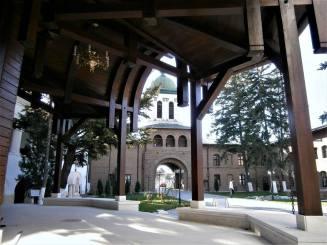 Plumbuita Monastery, summer pavilion