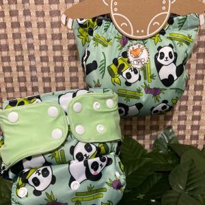 fralda estampa panda – Kape