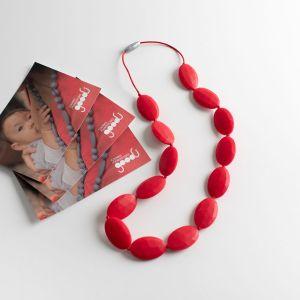 colar-mordedor-bebe-jenipano-silicone-vermelho