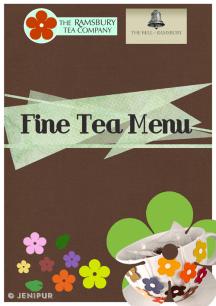 Ramsbury menu cover