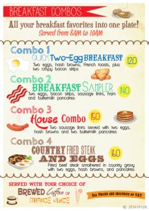Cozy Cup menu page 5