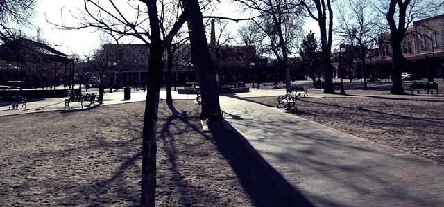 Santa Fe Plaza   Photo by Jen-Kuang Chang