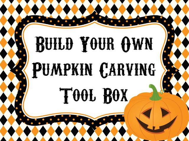 Pumpkin Carving Tool Box