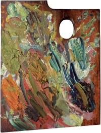 Palette of Vincent van Gogh