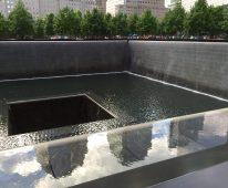 9/11 Memorial Fountain, NYC