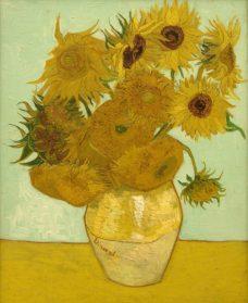 Vincent van Gogh, Sunflowers, 1889