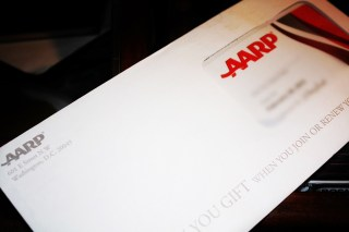 (BLOG/CONTENT) TONE IT DOWN AARP, I'M 40...