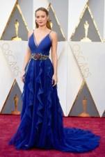 Brie Larson, vestido por Gucci.
