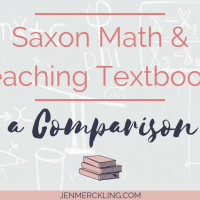 Saxon Math and Teaching Textbooks - A Comparison
