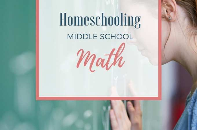 Experience success homeschooling middle school math--regardless of what curriculum you're using! I'm sharing 5 Tips for Homeschooling Middle School Math!