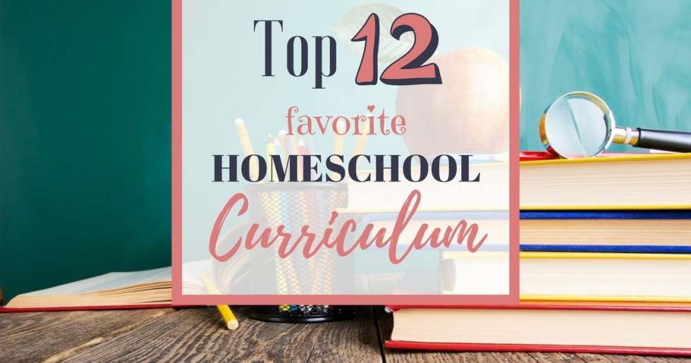 After 14 years of homeschooling--I've tried a lot of curriculums! Discover my top 12 favorite homeschool curriculums--the ones I keep coming back to year after year!