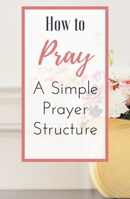 If you want to learn how to pray, or if you want to grow in your faith and prayer life--try the simple ACTS prayer structure! I'm sharing how the ACTS prayer structure helps me in my personal daily prayer time, and I hope it blesses you!