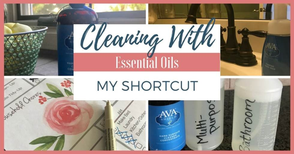 Cleaning With Essential Oils — My Shortcut