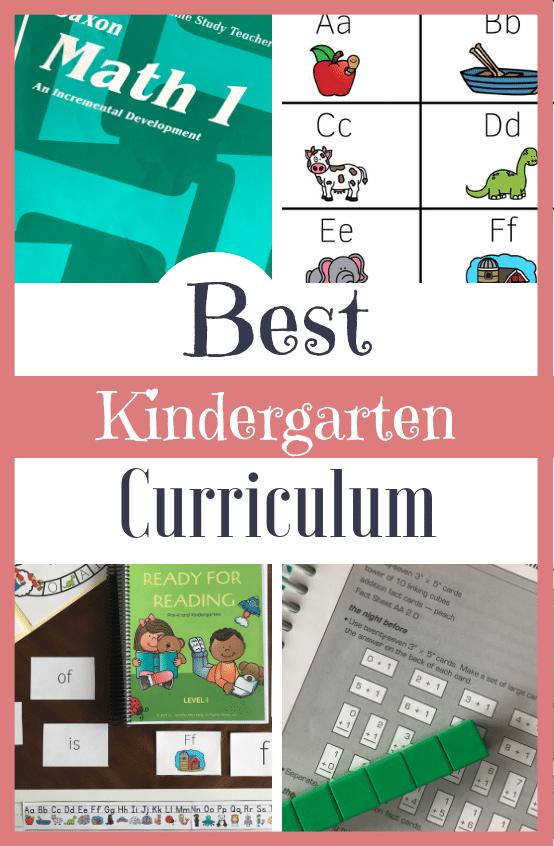 The Best Curriculum for Kindergarten | Jen Merckling