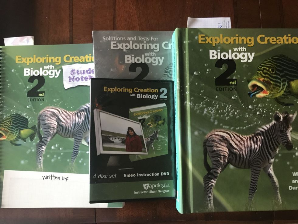 Let's talk homeschooling high school! Here are my homeschool 9th grade curriculum choices--old favorites and new curriculum picks! (Here is Apologia Biology!)