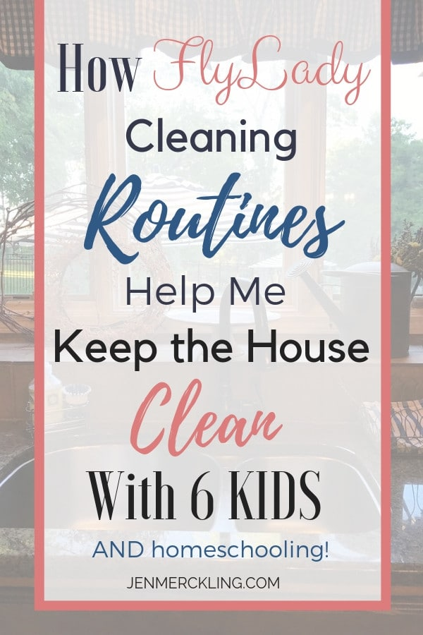 Stop feeling overwhelmed by your housework and gain peace of mind with the Flylady! I've been following her routines for years--here's how to get started!
