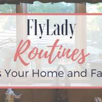 FlyLady Routines -- Bless Your Home and Family!