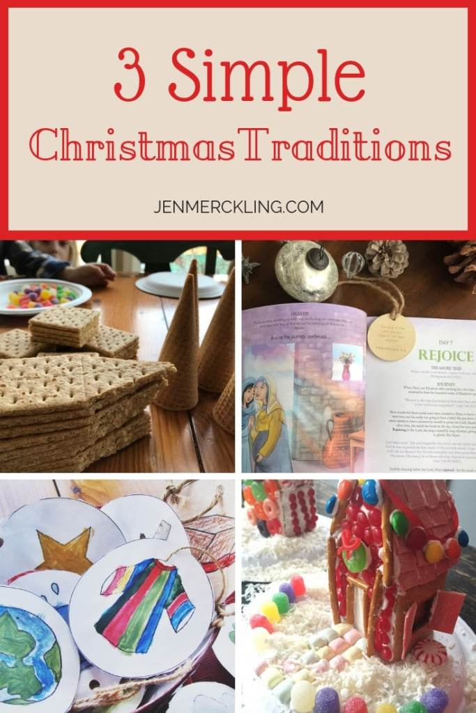We are all looking for ways to keep Christmas stressfree and joyful! Here are 3 Simple Christmas Traditions to enjoy with your family throughout Advent!