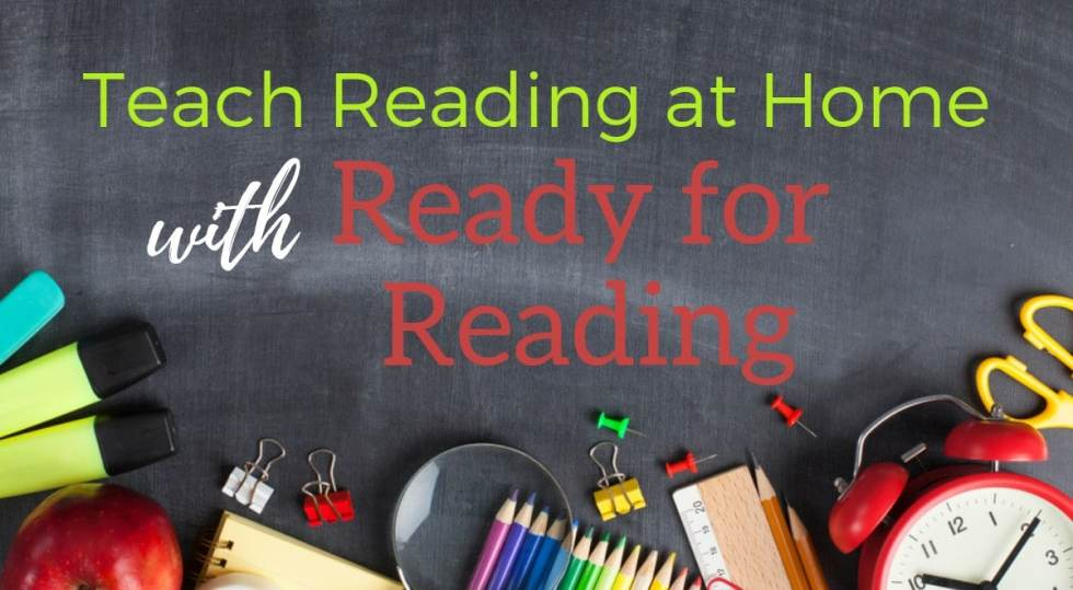 Do you want to teach reading at home? Discover Ready for Reading, a phonics curriculum designed for moms by a homeschool mom and teacher!