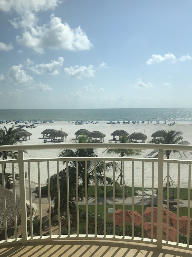 JW Marriott Marco Island Balcony View