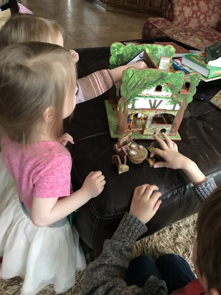 storytime goldilocks and the three bears toy house